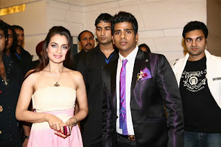 Bollywood Actress Amisha Patel at Victor Mobile Launch