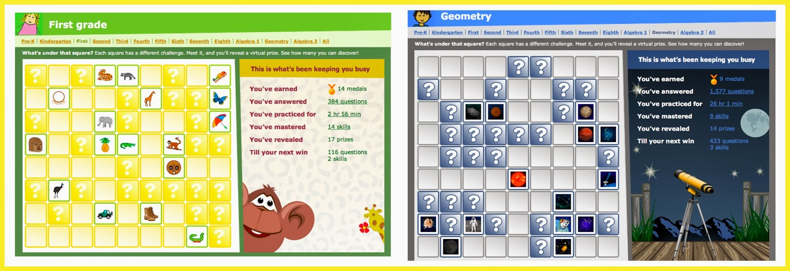 Adventures with Jude: IXL K-12 Math and Language Arts Practice (A ...