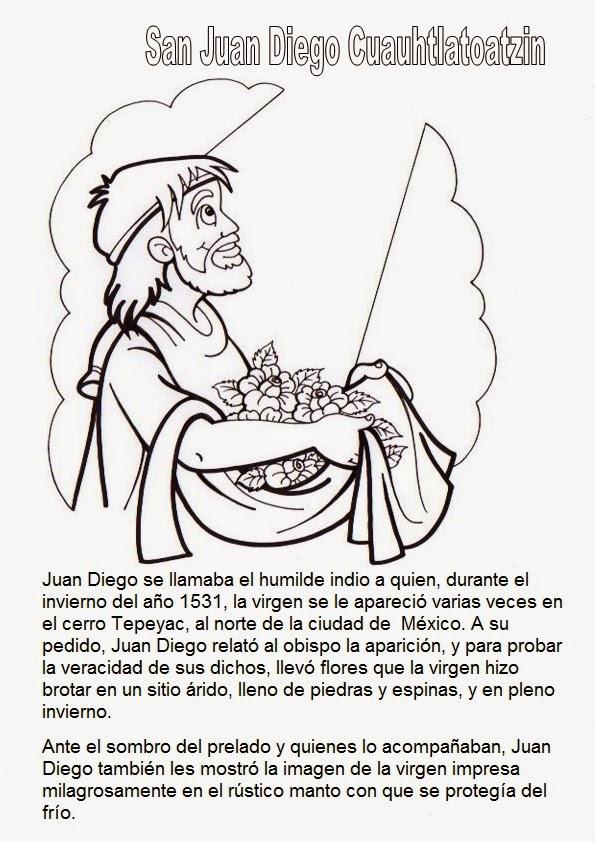 El Rincón de las Melli: San Juan Diego Cuauhtlatoatzin, reseña