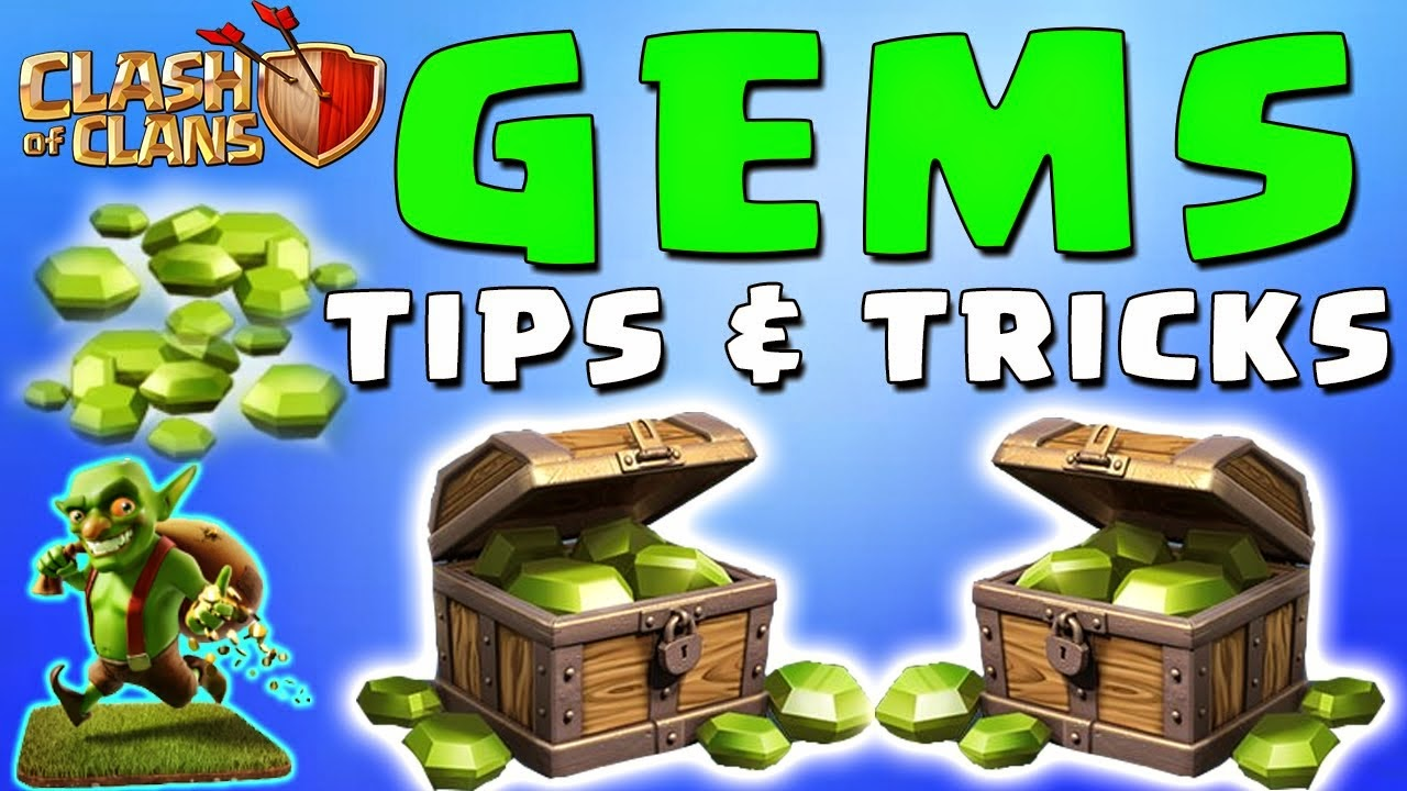 Gems Box Clash of Clans gratis