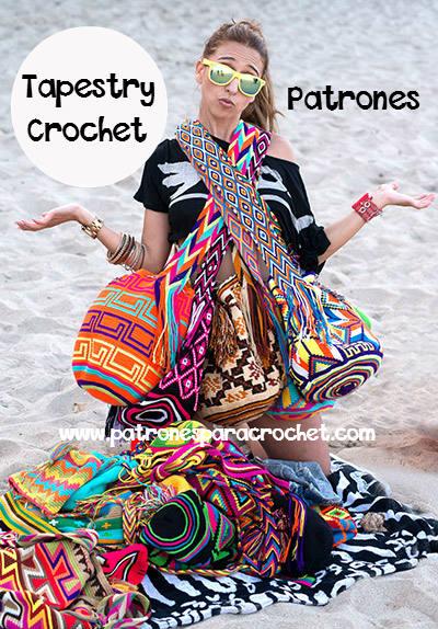 Patrones de bolsos wayuu