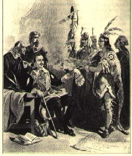 King Massasoit at First Thanksgiving
