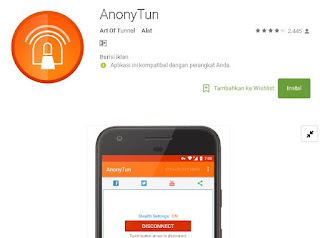 Cara setting Anonytun Telkomsel Videomax Youthmax