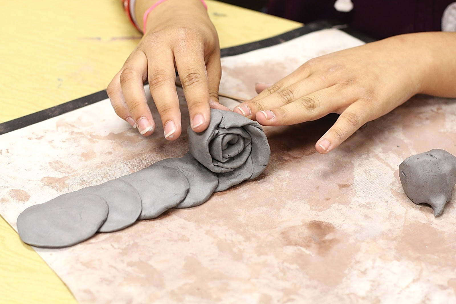 smart class clay roses for mother s day