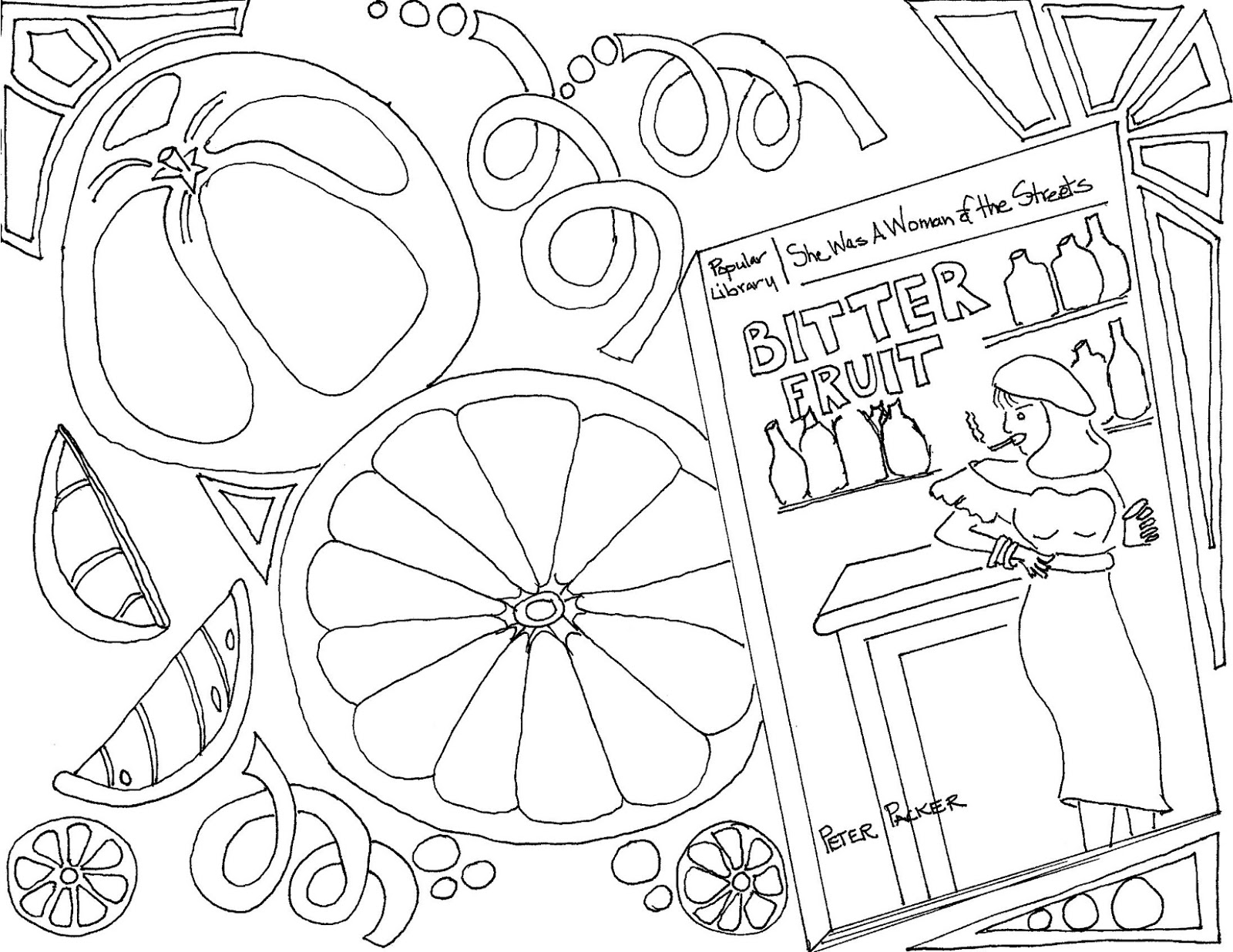 Mystery playground adult coloring pages of mystery for Mystery coloring pages