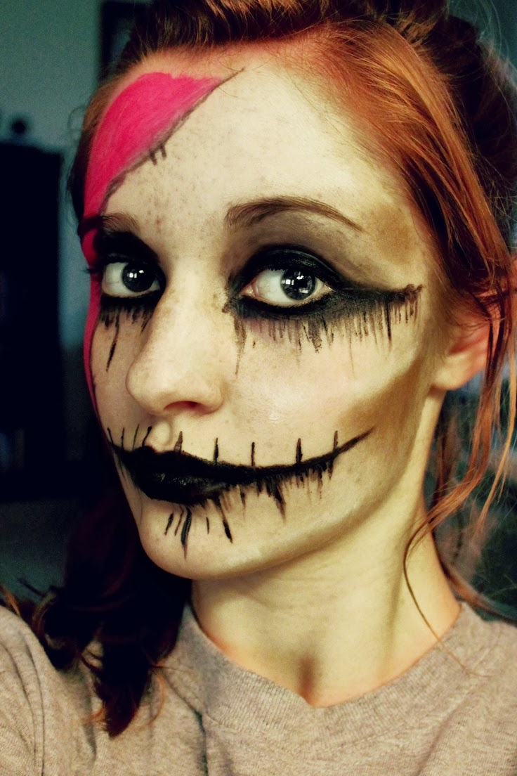 Wire &amp Fire Blog by ChatElaine: Thursday Thriller DAY 24 - Which Halloween Makeup