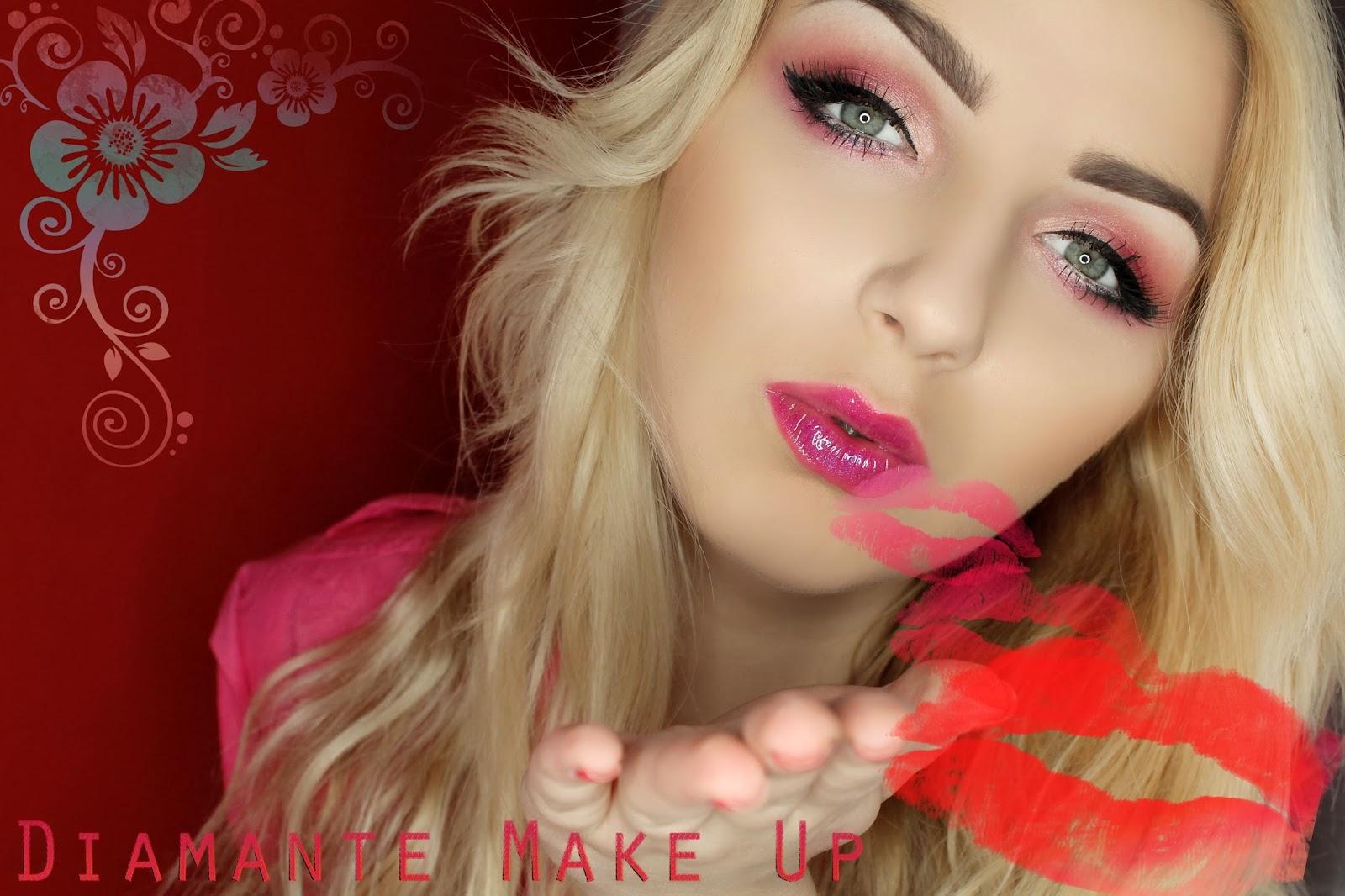Zmyslowy Makijaz Walentynkowy #2