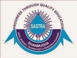 sastra.edu, Sastra University Schedule 2014 and Seat Allotment