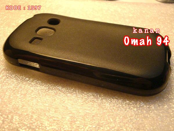 Jual Silikon Soft Case Samsung Galaxy Fame S6810 Hitam ( Black )