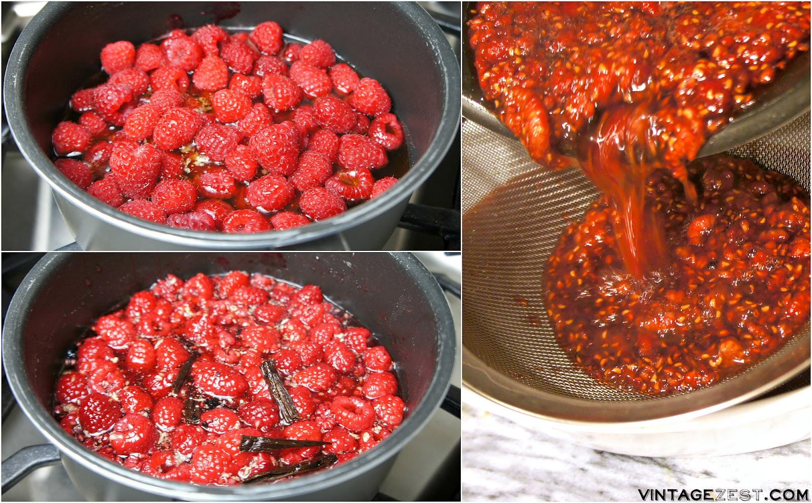 DIY Raspberry Vanilla Honey gifts on Vintage Zest #ad #HoneyforHolidays #easy #recipe