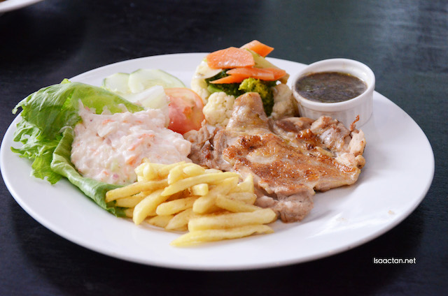 Grilled Chicken Chop - RM18.90