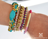 arm party diy, friendship bracelets, diy, my diy, fashion diy, diy bracelets, rope bracelets, scarf bracelet, ball chain bracelet, crystal chain bracelet, yarn bracelet, braided bracelets