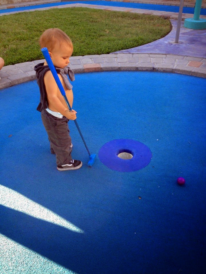 Boomers - Never too young for a good game of golf.
