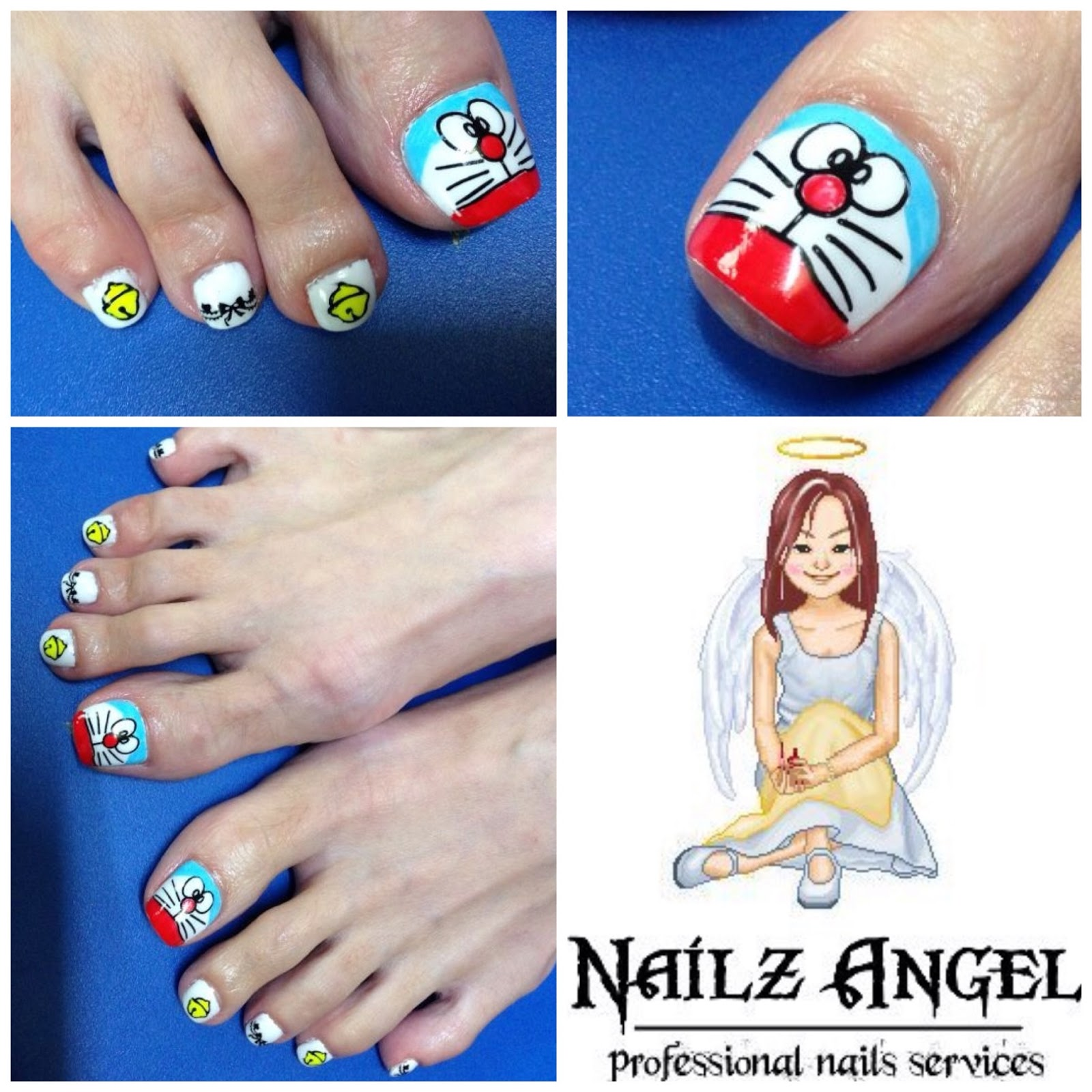 Professional Home Based Nails Services Gelish Pedicure Collections