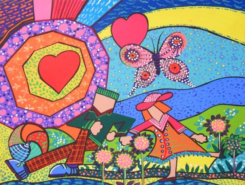 Cuadros modernos cuadros modernos infantiles - Pintura infantil pared ...