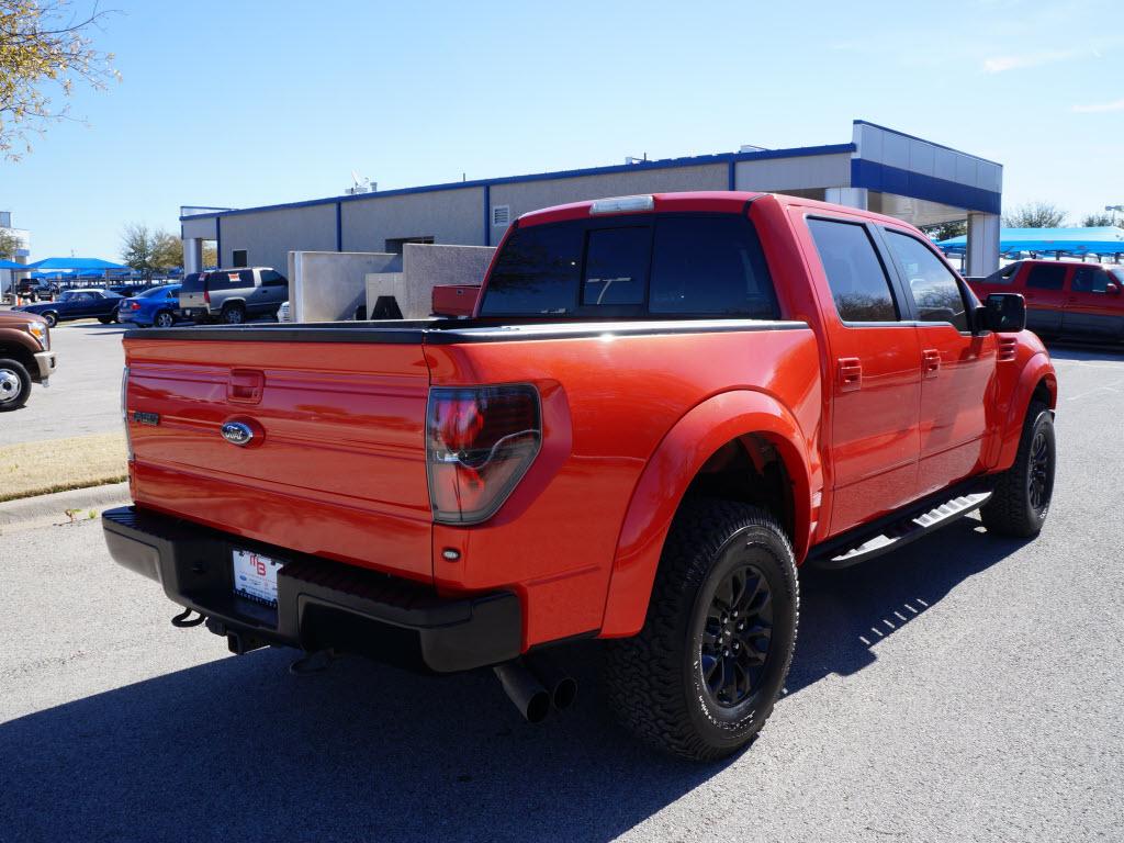 2011 ford raptor svt super crew 4x4 70k miles orange in color tdysales