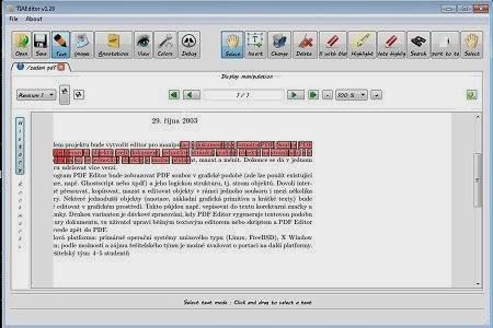 PDFedit PDF offline editor