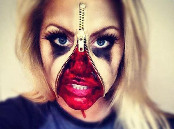 Beautiful Women Eve: Halloween face paint ideas and how to make ...