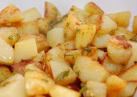 Batata com Alecrim e Chili (vegana)