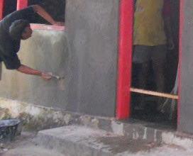 Teknik Pekerjaan Plesteran Dinding Dan Lapisan Pada Plesteran