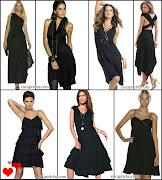 Vestido preto social (pretinhob )