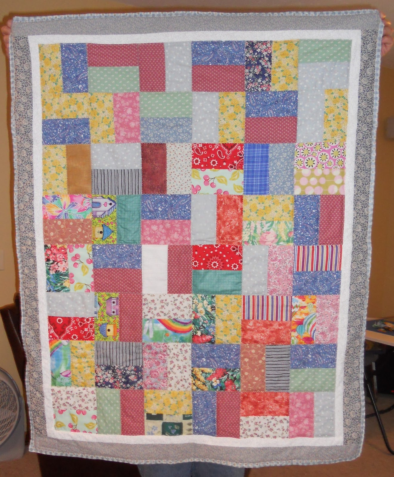 Quilts from the Bluffs: Quilt Deliveries - Project Linus : project linus quilt patterns - Adamdwight.com