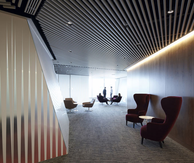World of architecture amazing office solutions macquarie for Cool office interiors