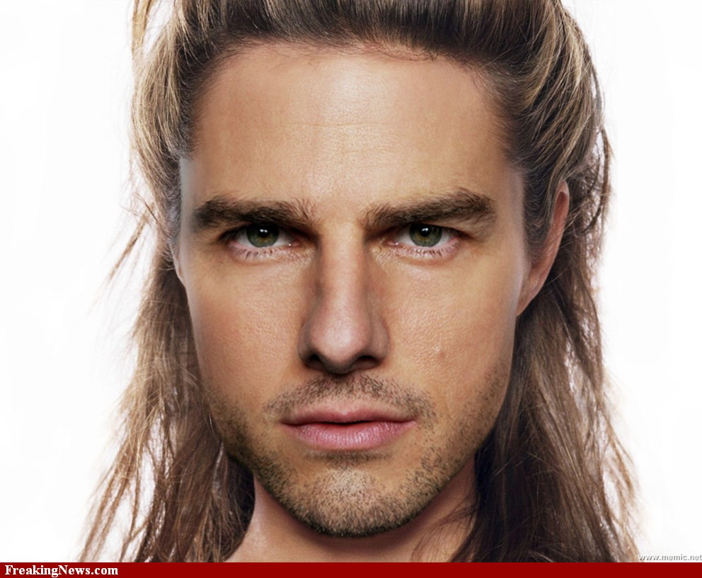 Tom Cruise Long Hair Fashion FASHIONGURU99