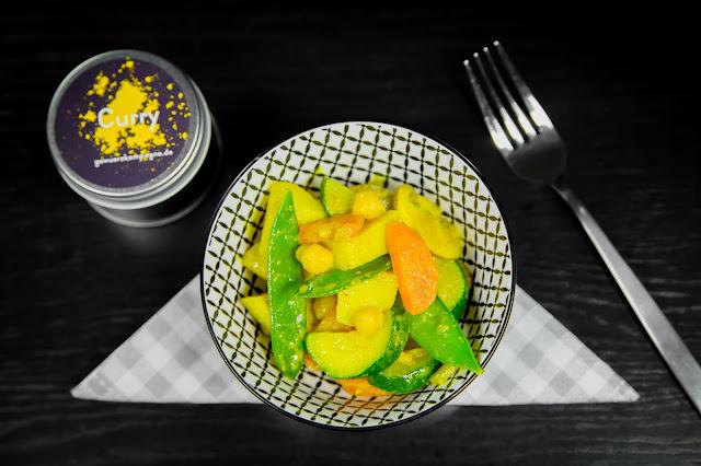 Curry Gericht mit Gemüse Rezept
