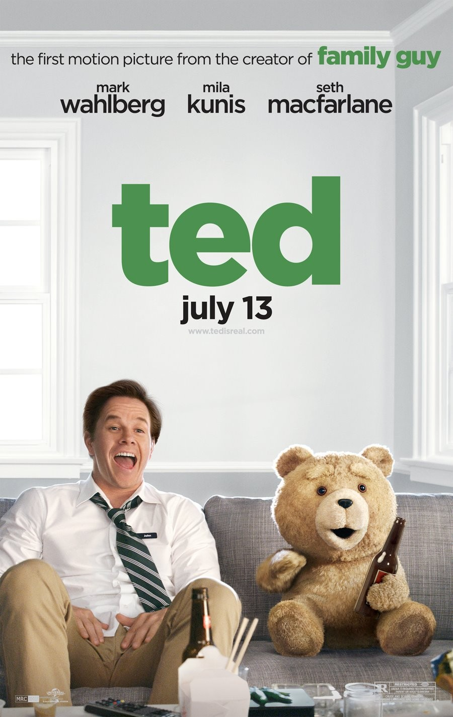 Seth MacFarlane's Ted joins the ranks of Harold and Kumar Go to White Castle and Observe and Report among razor-sharp cultural satires cleverly disguised