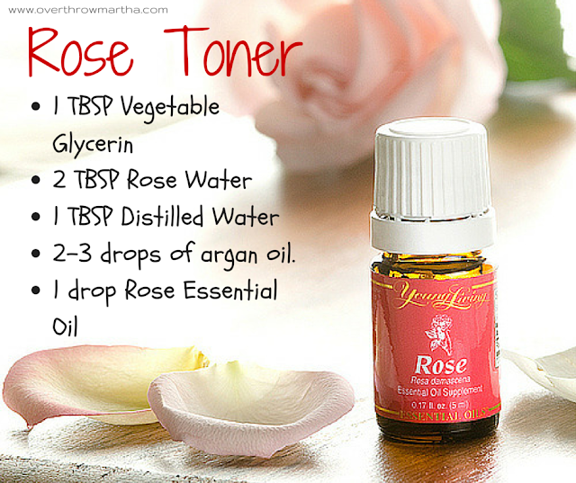 DIY rose toner recipe #DIYbeauty