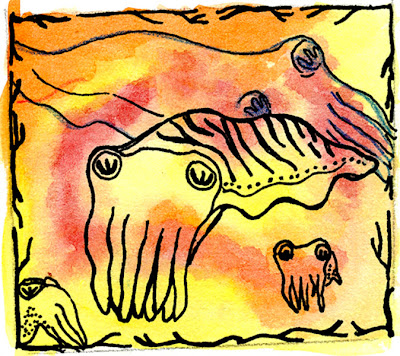 Cuttlefish illustration