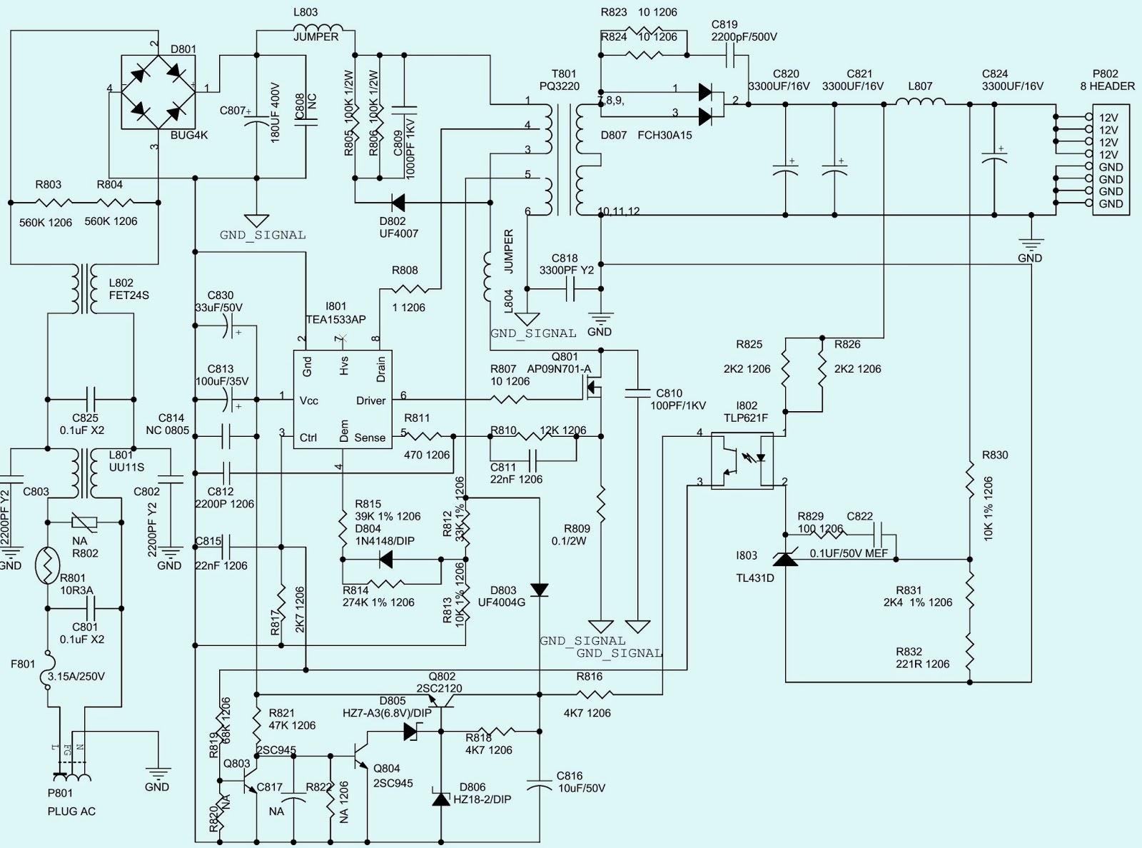 viewsonic nextvision \u2013 n2010m \u2013 smps (power supply) schematic