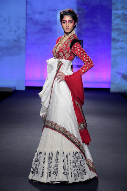 Delhi Couture Week 2012 Anju Modi Fashion Collection