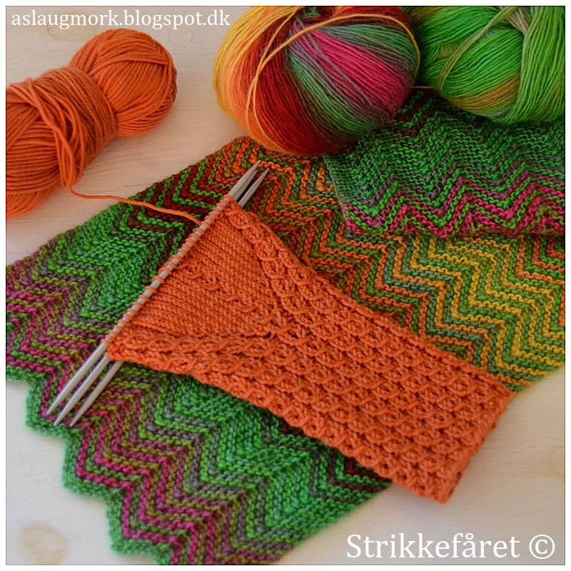 sjove strikkede tørklæder