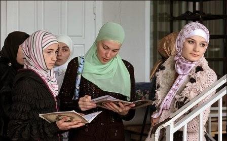 Model Hijab Chechnya
