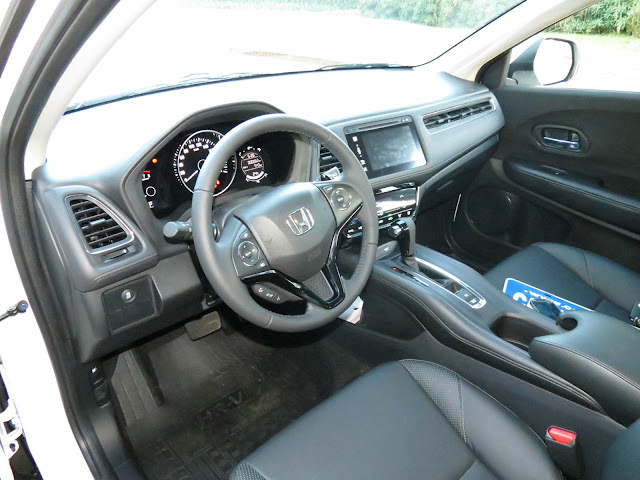 Honda HR-V EXL Branco - interior