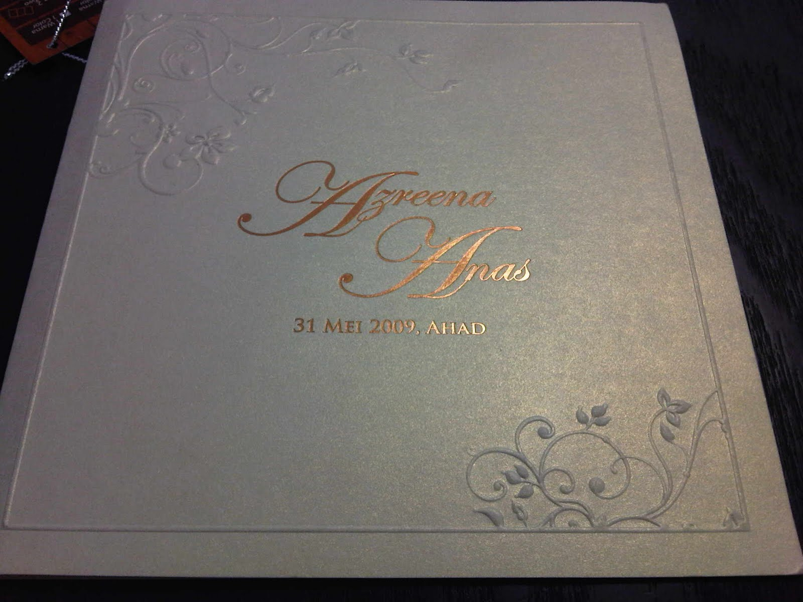 Confessions of a shopaholic wedding invitation cards well not yet my card because i still have to re confirm the aturcara majlis with the card designer so this whole card printing thing is still in progress stopboris Choice Image