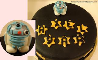 Star Wars tårta