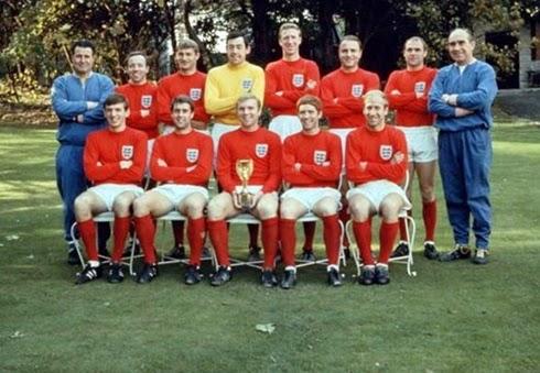Time Inglaterra campeão da copa do mundo 1966