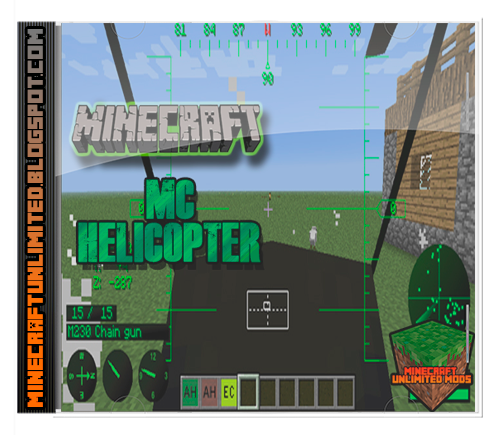 MC Helicopter Mod minecraft