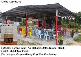 LOKASI JUALAN DI TELUK INTAN, PERAK. (2.9.2014)