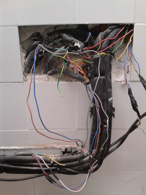 sparks in spain worst electrical jobs rh tonysparksinspain blogspot com electrical wiring jobs in london Museum of London