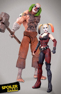DC Collectibles Batman: Arkham City Harley Quinn & Mr Hammer 2-Pack