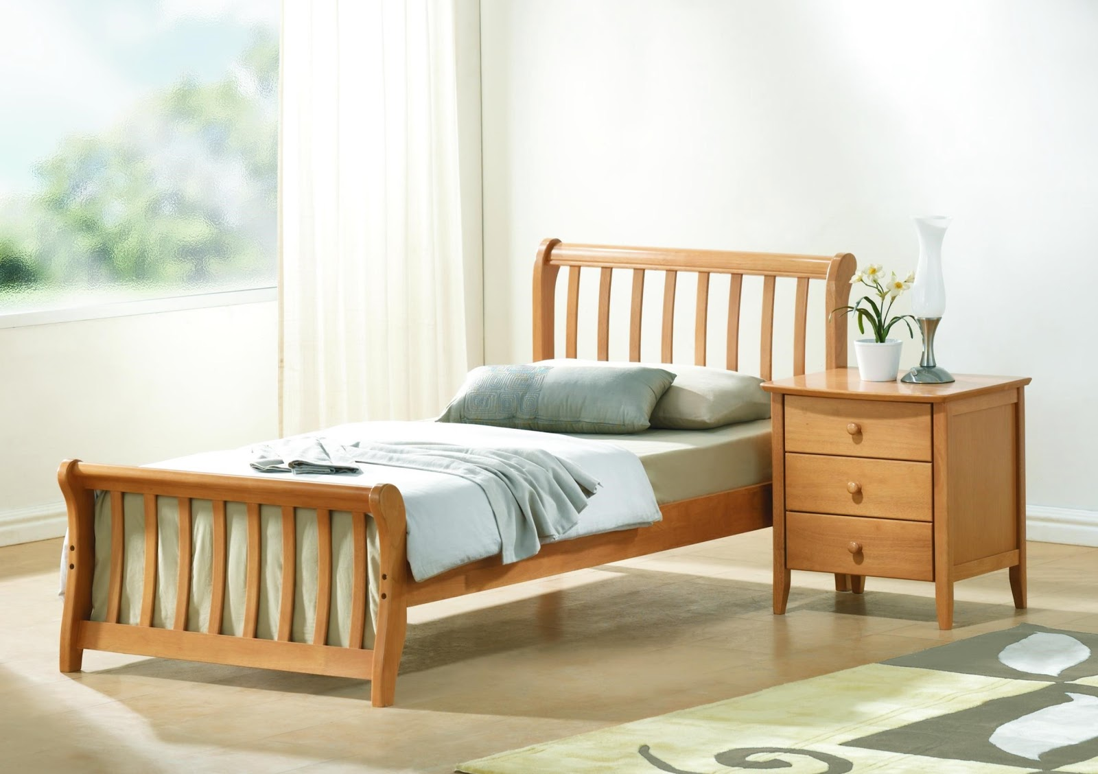 foundation dezin decor sleep well single bed