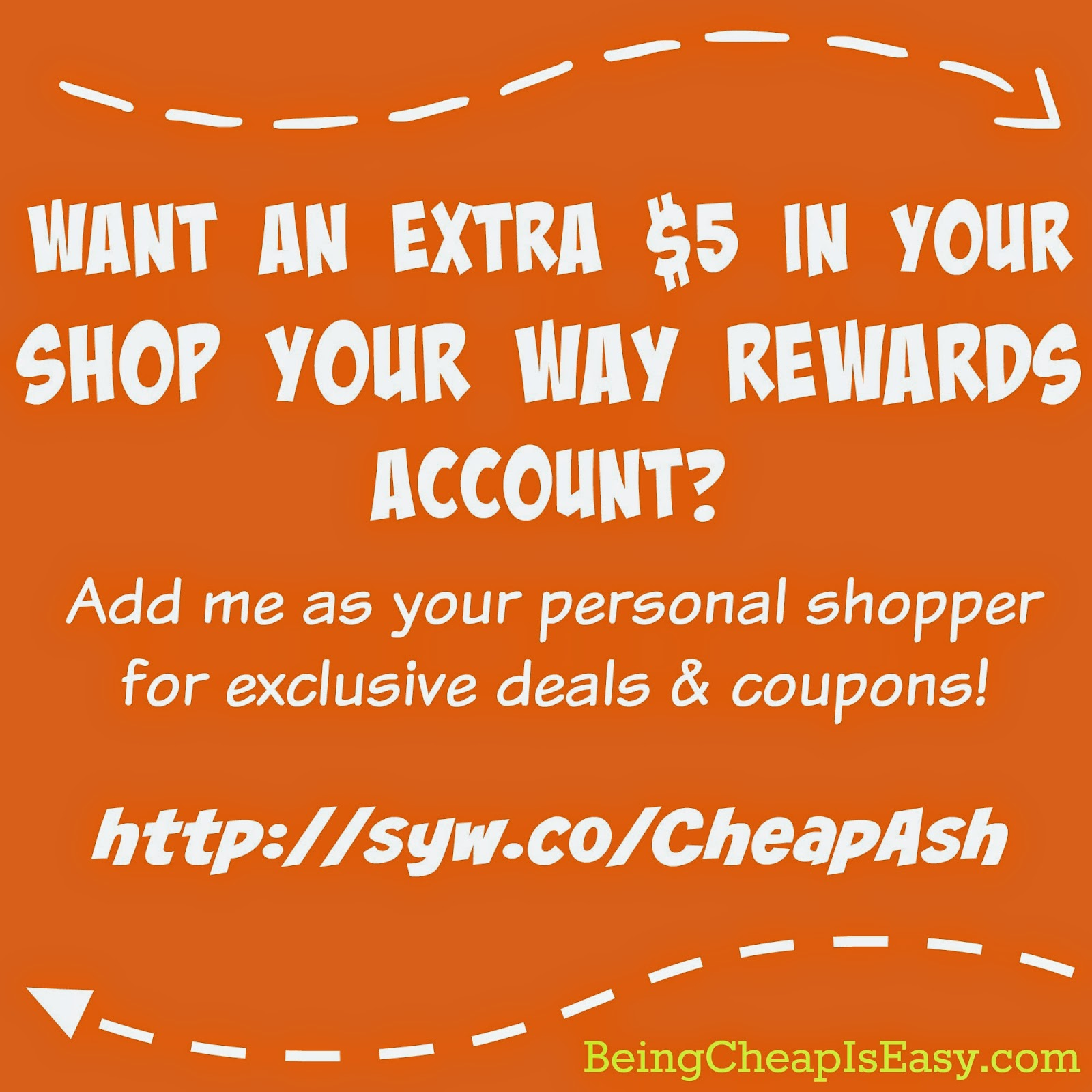 http://syw.co/CheapAsh , Shop Your Way, Sears, Kmart, Lands End