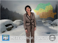 Funny photo Anca Boagiu Meteo