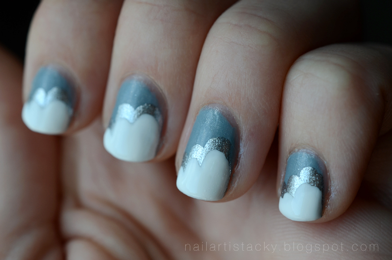 Cloud Nails - Nail Art