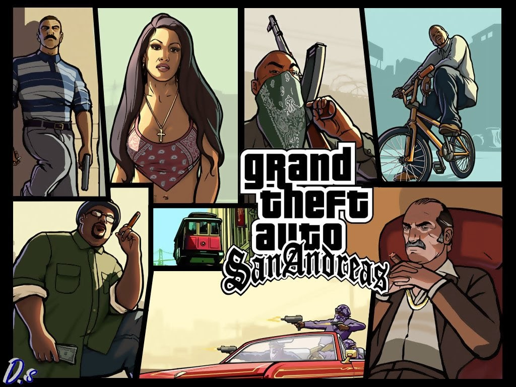 Grand Theft Auto San Andreas : Android grand theft auto san andreas apk v