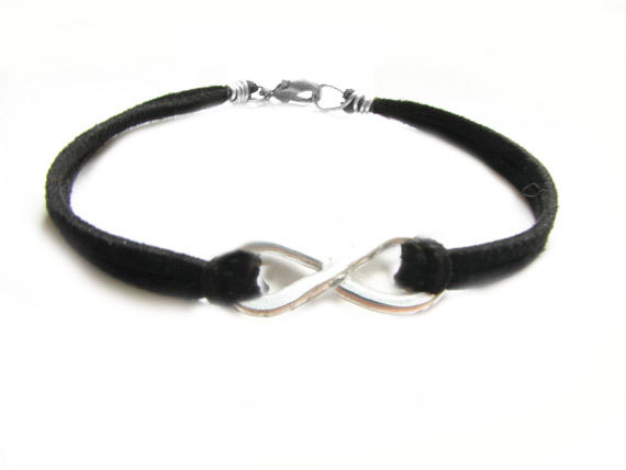 Infinity Bracelet Leather4